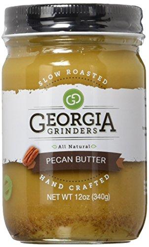 Georgia Grinders Premium Nut Butter, Pecan, 12 oz