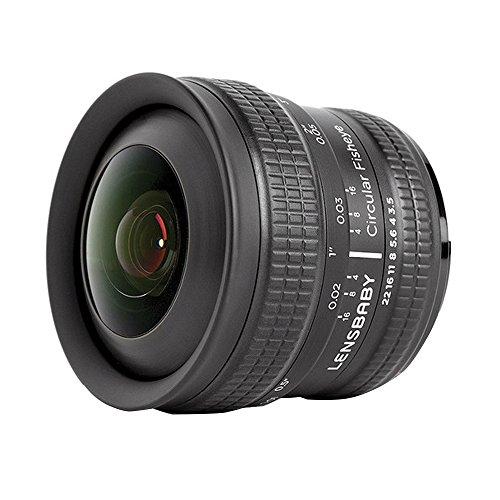 Lensbaby Circular Fisheye-Objektiv für Nikon F
