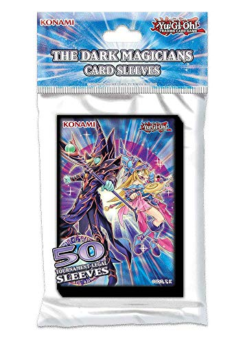 Yu-Gi-Oh! TCG The Dark Magicians Accessories Card Sleeves (50 Sleeves)
