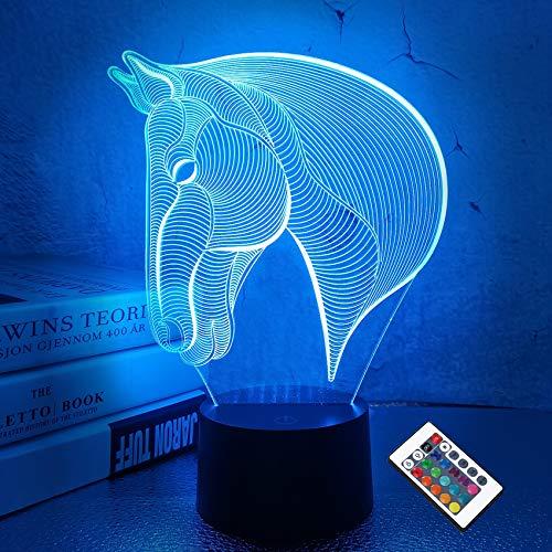3D Illusion Night Lamp