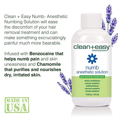 Clean + Easy Numb- Anesthetic Numbing Solution 4 oz