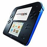 Nintendo 2DS - Konsole, schwarz/blau
