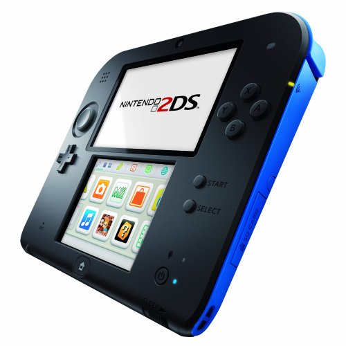 Console Nintendo 2DS - noire & bleue