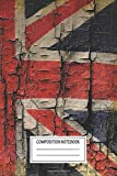 Composition Notebook: Vintage Posters Our Jack How The Flag Of Great Britain Came About The Mixed Media Art Wide Ruled Note Book, Diary, Planner, Journal for Writing
