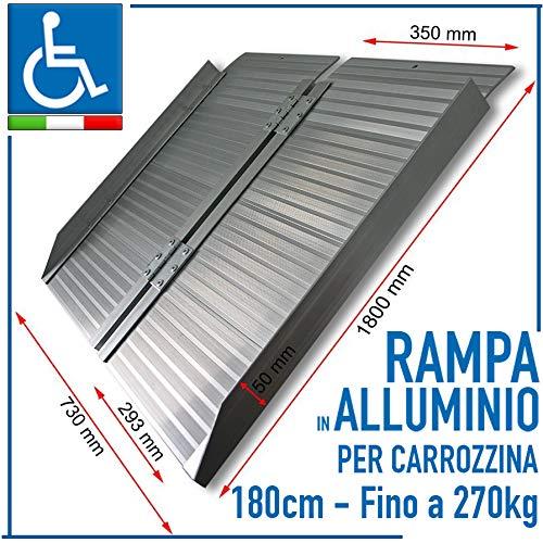 Hangmat van aluminium, draagbaar, met wieltjes, van aluminium, tot 270 kg belastbaar, universeel bruikbaar, 180 CM, 1