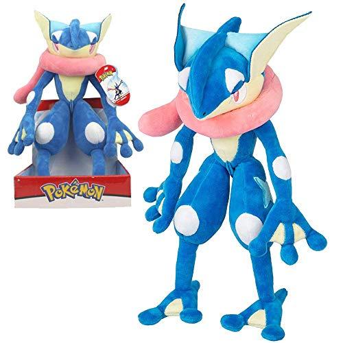Pokemon Selección Premium Figuras de Felpa Caja de Regalo   27- 30 cm,  Felpa:Greninja