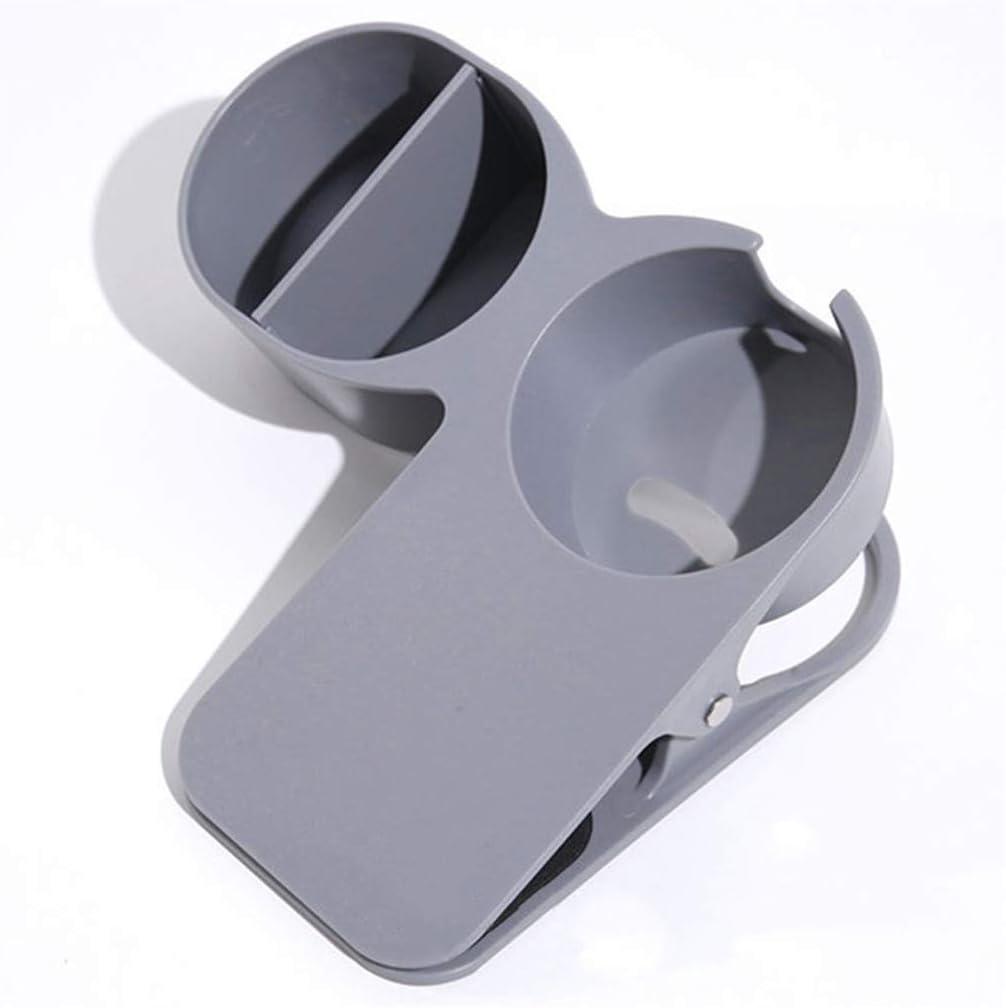 da scrivania laterale per tazze colore grigio caff/è bibite caff/è portatile Portabicchieri creativo Moonring
