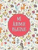 Mi álbum de pegatinas: Álbum de pegatinas para coleccionar pegatinas / Carpeta de coleccionismo de pegatinas / Álbum de coleccionismo de libros de pegatinas / Álbum de comercio de pegatinas