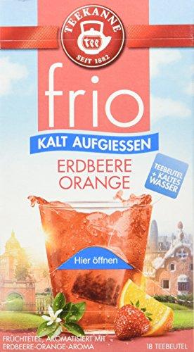 Teekanne frio Erdbeere Orange, 5er Pack (5 x 45 g)