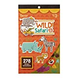 Darice Sticker Book: Wild Safari, 278 Stickers