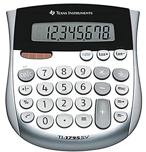 Texas Instruments TI-1795 SV Calculatrice de taxes 8 chiffre