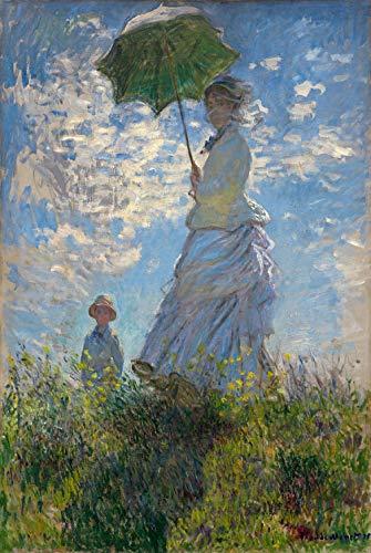 Pezzo adulto Puzzle di legno Giocattolo Pittore Sunrise Impression-Peacock Blue Monet Aspettando Pezzi 1000 compresse senza cornice