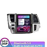 YLCCC 12,1-Zoll-Android 9.0 Carplay DSP PX6 Für Toyota Highlander 2014-2018 Sat NAV Vertical Screen GPS-Navigations-Radio-Player 4 + 32GB