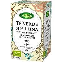 ArtemísBio Té Verde Descafeinado - 20 Infusiones