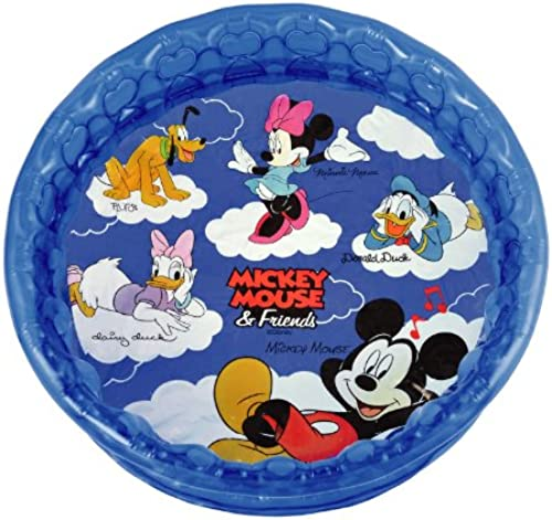 Riburaito Piscine Ronde Mickey Mouse U0026Amis 100cm