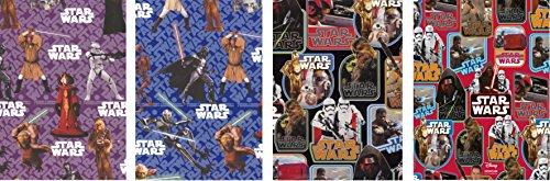 5 Rollen Geschenkpapier je 200 x 70 cm Star Wars
