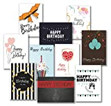 30 Premium Geburtstagskarten und Umschläge - inklusive E-Paper mit den