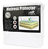 Superior 100-Percent Waterproof Hypoallergenic Premium Mattress Protector with 15-Year Warranty, Twin X-Large bed bug sprays Nov, 2020