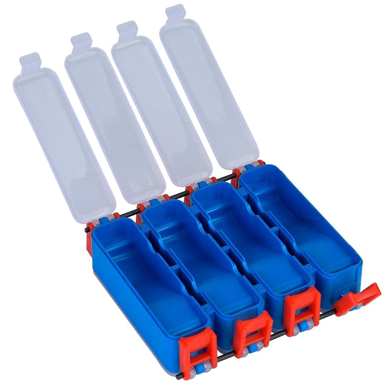 釣りタックルボックス フック収納ボックス 軽量 防水性 大容量 釣り道具箱 釣りルアーボックス