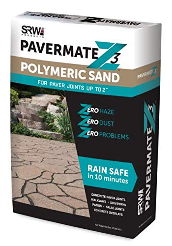 SRW Products Z3 Pavermate Polymeric Sand, 50-Pound Bag (Black)