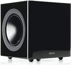 Monitor Audio Radius 380 8-Inch Powered Subwoofer (High Gloss Black)