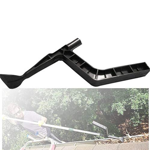 Roof Gutter Cleaning Tool, Gutters Cleaning Spoon and Scoop, Threaded Design Leaves Cleaning tools for Garden, Ditch, Villas, Townhouse, Sewer