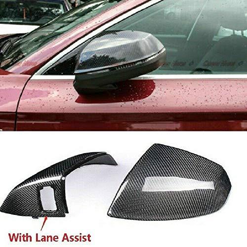 Seitenspiegel-Abdeckung aus Karbonfaser, für Audi Q5L Q7 SQ5 SQ7 15+W/h