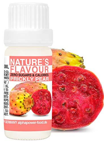 Flavour Drops Kaktus Feige, Flave - Flavdrops I 100{99d34345c901f8111347a0861c999539e9bc0d82bf47a8c5f049429f5c801782} natürliches Aroma, Geschmackstropfen ohne Kalorien & Zucker I Backaroma für alle Lebensmittel & Wasser mit Geschmack