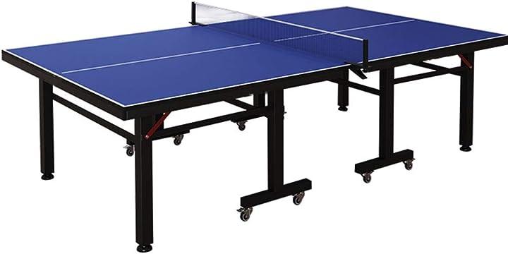 Tavolo da ping pong con set di paddle per rete e ping pong, tavolo da ping pong per interni/estern 04210952