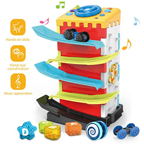 REMOKING Multifunctional Activity Play Center, Early Educational Baby Toy