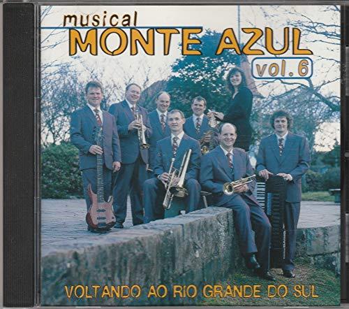 Musical Monte Azul - Cd Voltando ao Rio Grande do Sul - Vol 6 - 1998