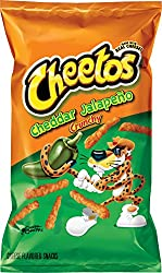 Cheetos Crunchy Cheddar Jalapeño Cheese Flavored Snacks, 8.5 Ounce