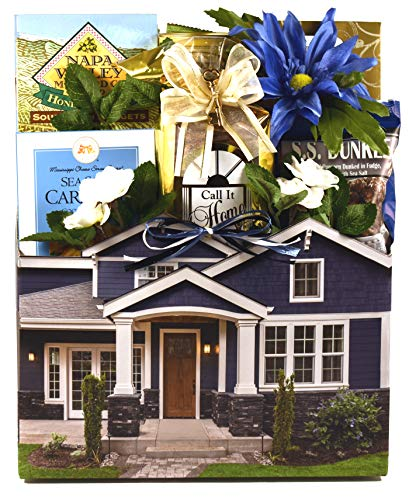 Gift Basket Village Housewarming For New Homeowners - Help Celebrate Their New House with a Basket Full Of Moving Day Treats