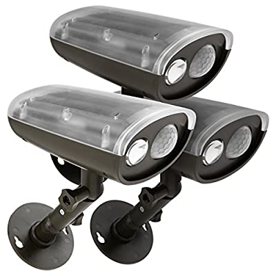 ED Outdoor Security Light with PIR Motion Sensor and Photocell Sensor