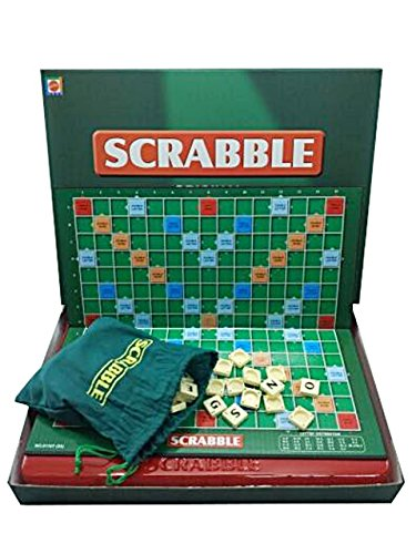 (リトルスワロー) LtSw Scrabble スクラブル 英語 単語 クロスワード パズル アルファベット ボード カード ゲーム 子供向け 大人向け 知育玩具 英語教材 脳トレ (大人用)