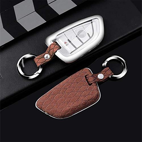 Llavero para la cubierta de la llave del auto, Aleación de zinc Luminoso Gel de sílice Carcasa para la llave del auto para Honda Hrv Civic 2017 Accord 2003-2007 Cr-V Freed Pilot, D, Plata A-