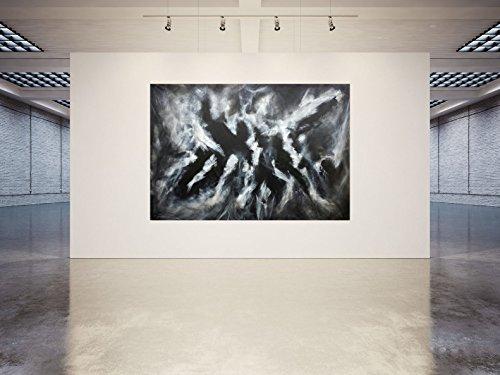 Unikat - 2013, Acryl / Leinwand 165 x 240 cm, Handsigniert - Kunst - Bild - Abstrakte Malerei - Painting