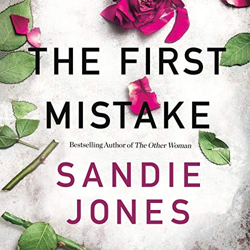The First Mistake audiobook cover art