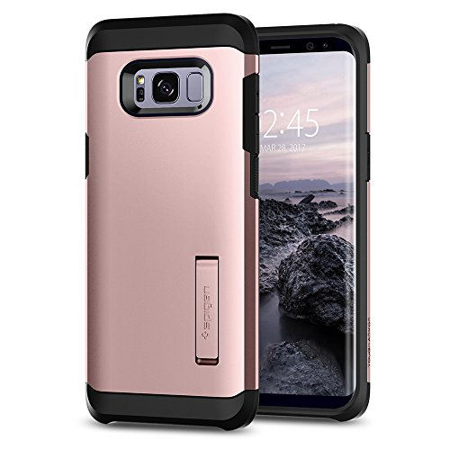Spigen Tough Armor Designed for Samsung Galaxy S8 Plus Case (2017) - Rose Gold