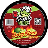 Sapo's Miches Chamoy Rim Rimming Paste Sauce Candy Dip for Drinks, Micheladas, Fruit, 8 oz (Spicy...