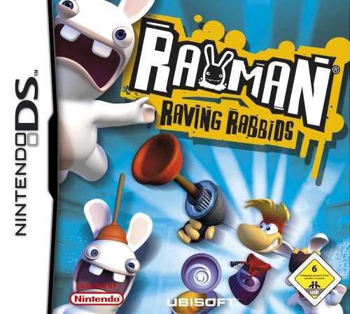 DS Rayman Raving Rabbids