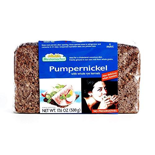 Mestemacher Pumpernickel Bread 17.6 oz each (2 Items Per Order)