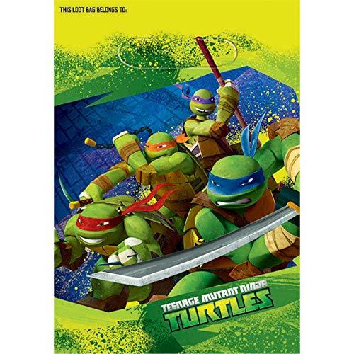 American Greetings Teenage Mutant Ninja Turtles Party Supplies Plastic...