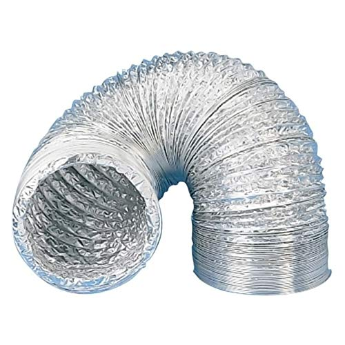 Gaine aluminium souple - Diamètre : 125 mm - UNELVENT