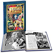1960 What A Year it Was: 59th Birthday or Anniversary Flickback Hardcover Coffee Table Book