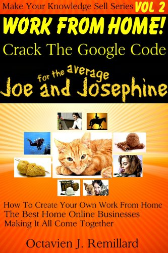 Work From Home - Cracking The Google Code (Make Your Knowledge Sell Book 2)