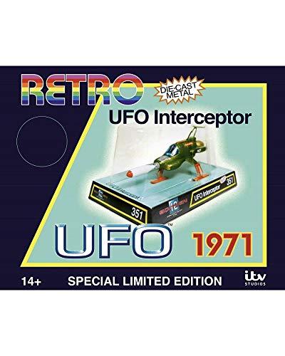 Sixteen 12 - UFO Interceptor 1971 Modell Die Cast Sonderedition Retro limitiert - mehrfarbig - 15 cm