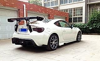 DeLUXE Carbon GT86 FT86 BRZ FR-S GT Wing//Rocket Bunny Style Rear Spoiler GT Spoiler Wing+CNC Aluminum Brackets