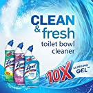 Lysol Power & Fresh Toilet Bowl Cleaner, Ocean Fresh, 24oz Pack of 8 #1