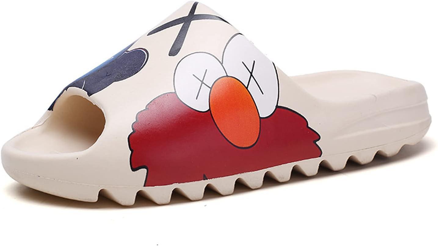 CYJX Unisex Slide Sandal Summer Slippers Non-Slip Soft Pool Slides, Indoor & Outdoor House Slides Slippers, Light Weight EVA Slides